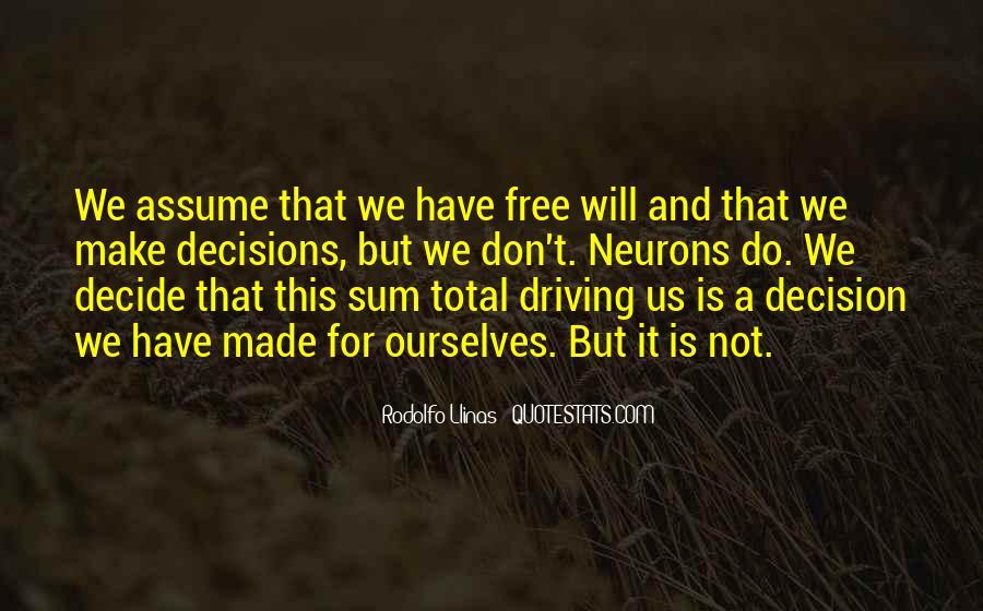 Rodolfo Llinas Quotes #1376332