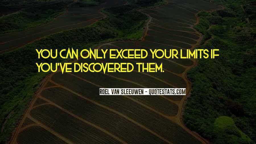 Roel Van Sleeuwen Quotes #1408494