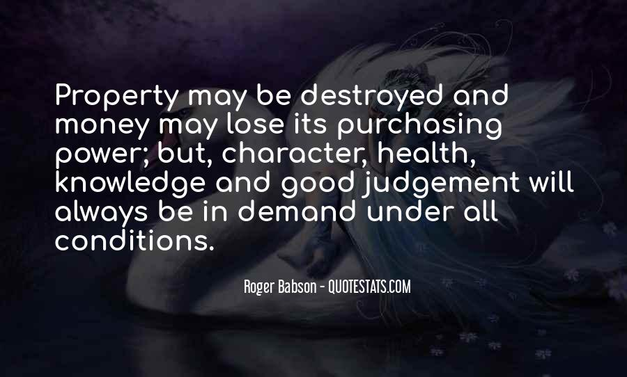 Roger Babson Quotes #1765893