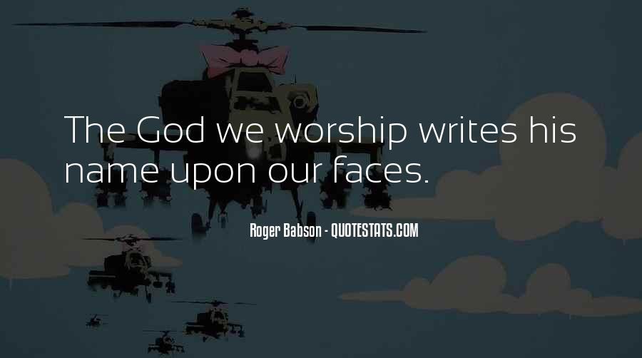 Roger Babson Quotes #446433