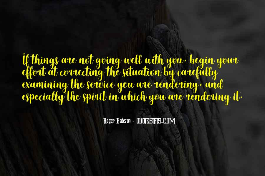 Roger Babson Quotes #728386