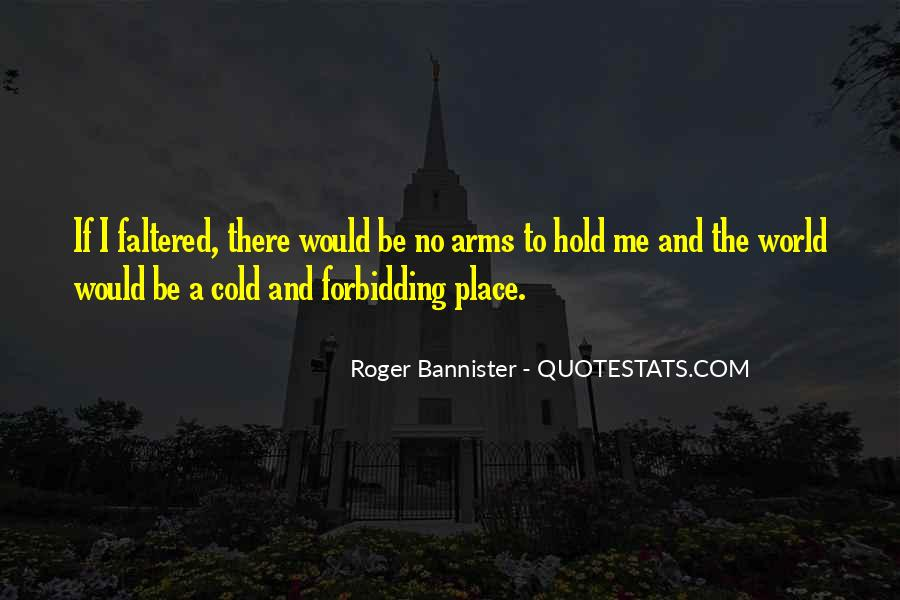 Roger Bannister Quotes #223343