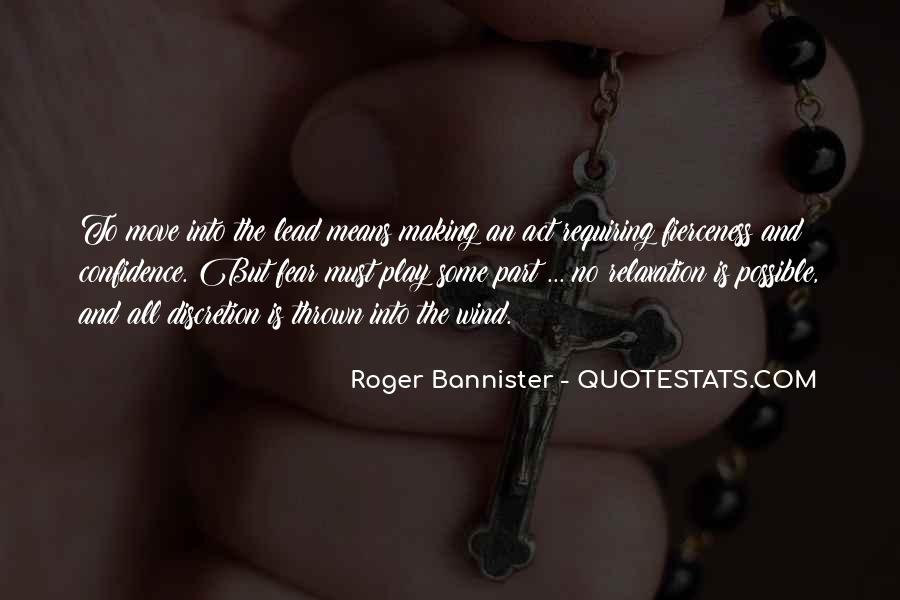 Roger Bannister Quotes #488960