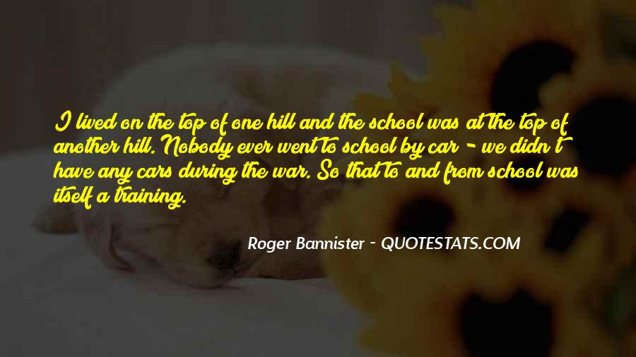 Roger Bannister Quotes #740975
