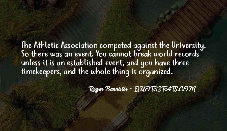 Roger Bannister Quotes #794796