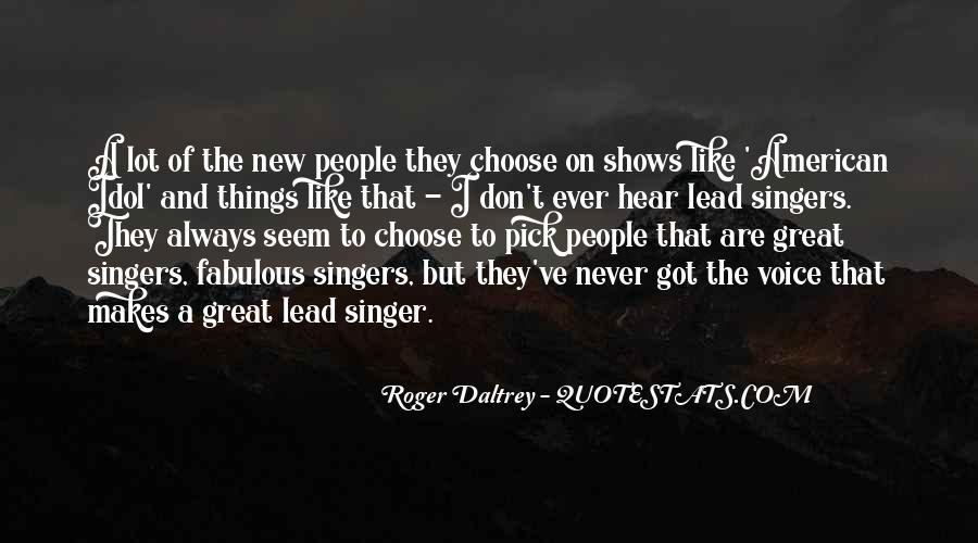Roger Daltrey Quotes #1030645