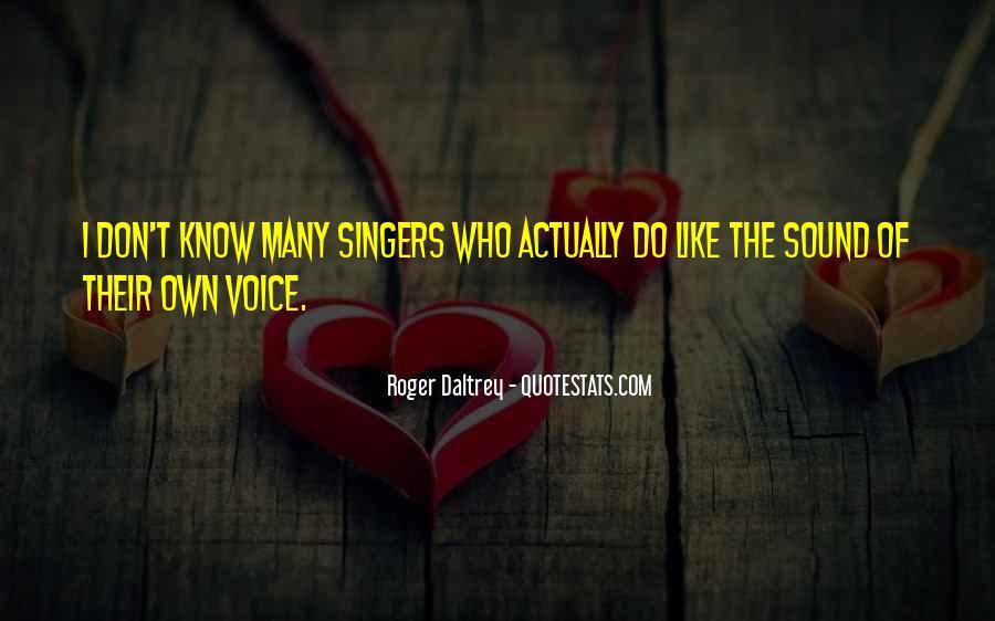 Roger Daltrey Quotes #1526796
