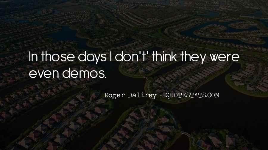 Roger Daltrey Quotes #165605