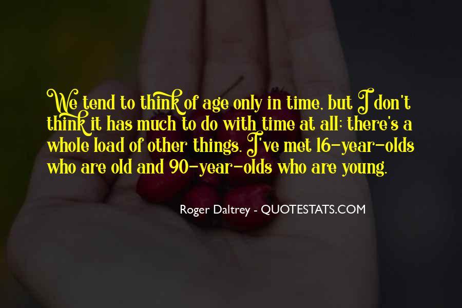 Roger Daltrey Quotes #44182