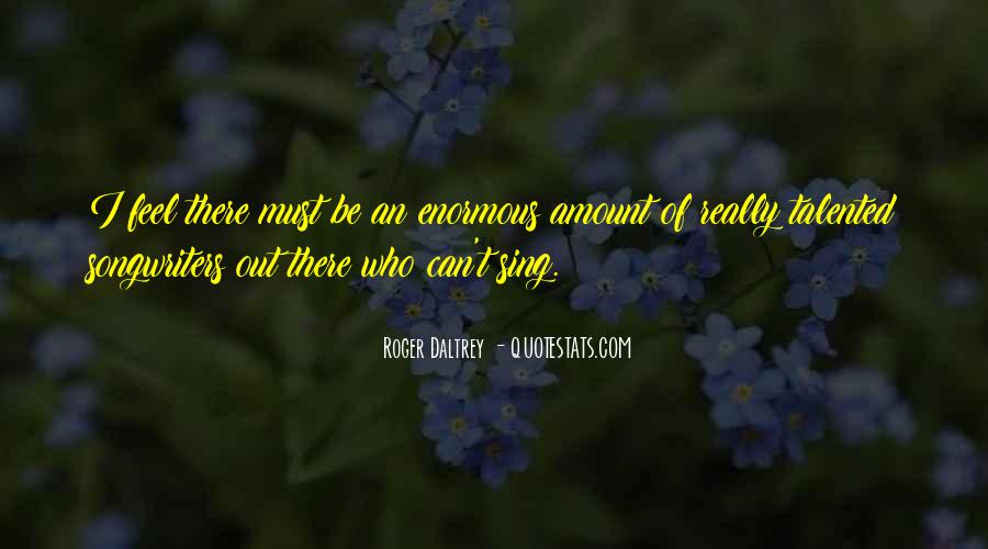 Roger Daltrey Quotes #539668