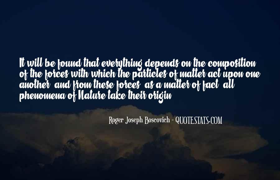 Roger Joseph Boscovich Quotes #650712
