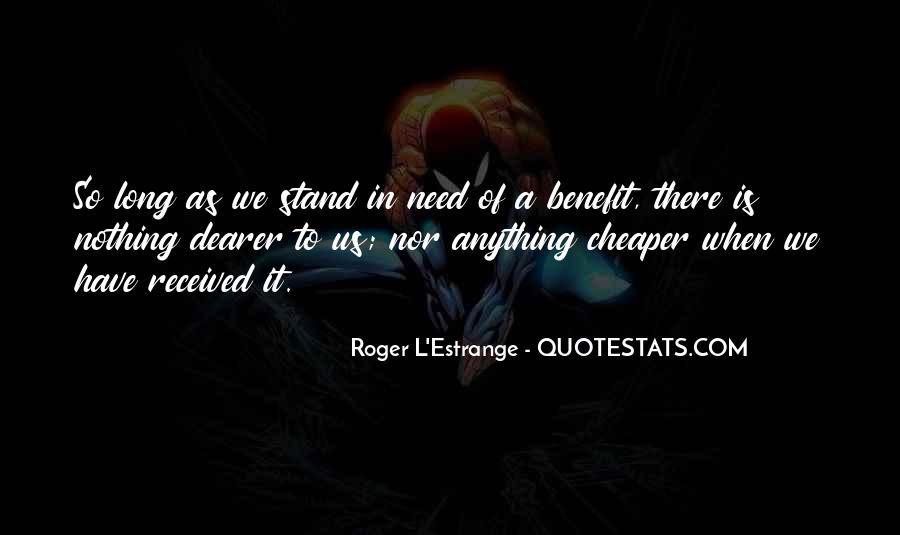 Roger L'Estrange Quotes #1105170