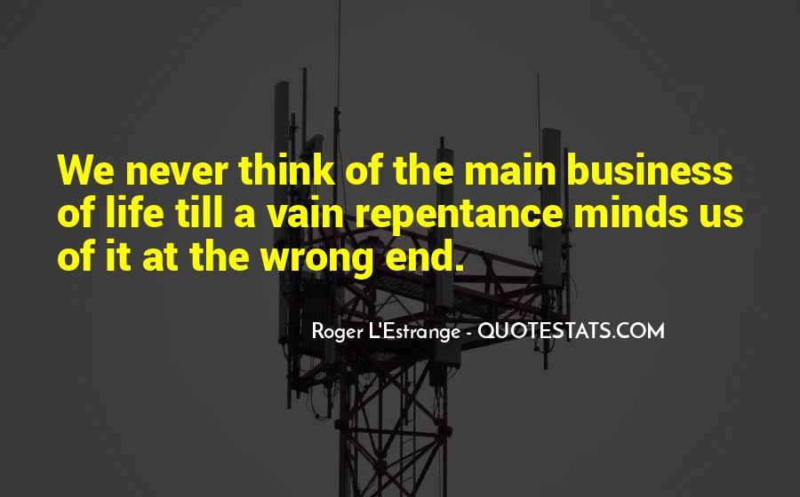 Roger L'Estrange Quotes #560105