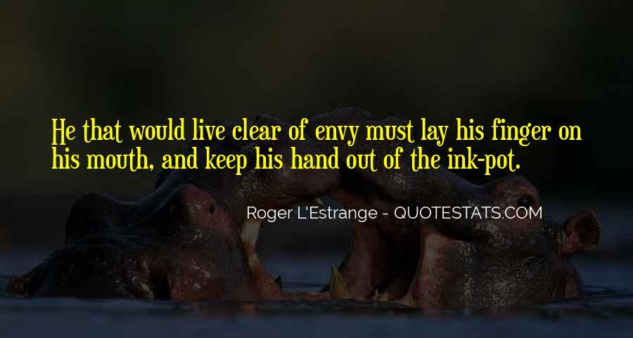 Roger L'Estrange Quotes #62867