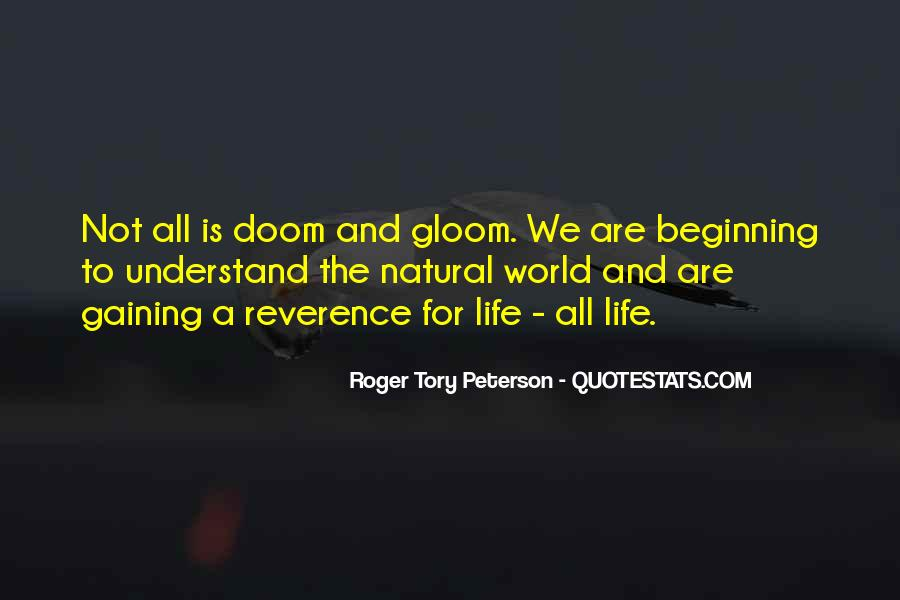 Roger Tory Peterson Quotes #607646