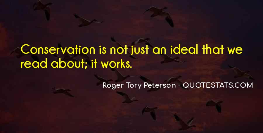 Roger Tory Peterson Quotes #93912