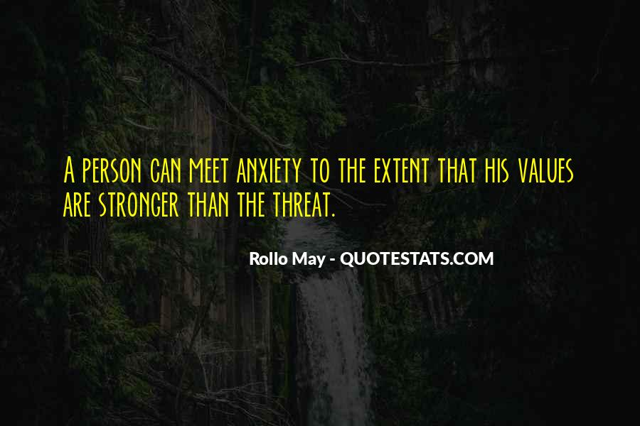 Rollo May Quotes #1027052