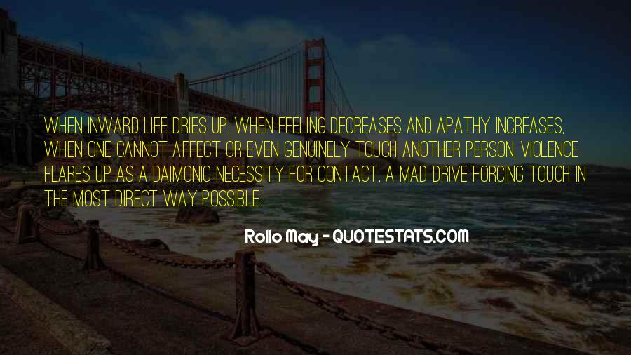 Rollo May Quotes #1360506