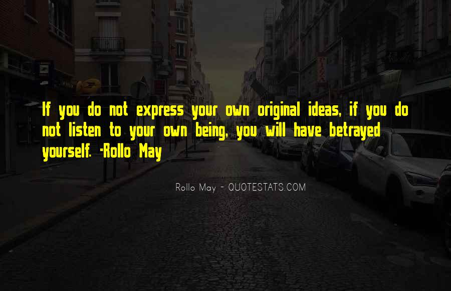 Rollo May Quotes #1483264