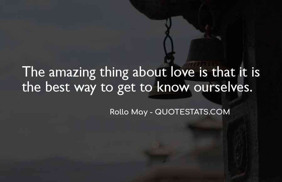 Rollo May Quotes #1649573