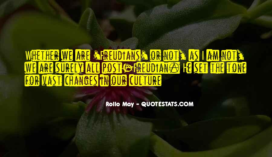 Rollo May Quotes #416266