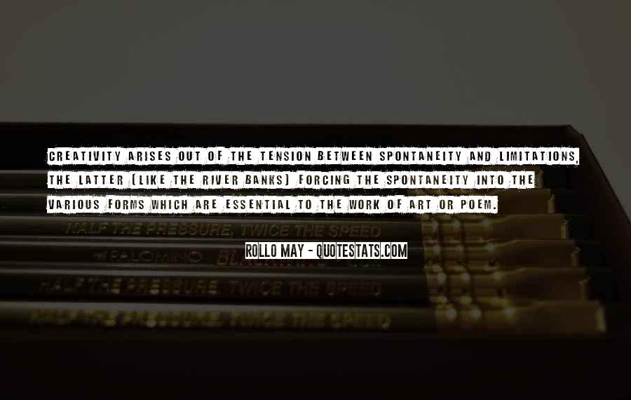 Rollo May Quotes #421455