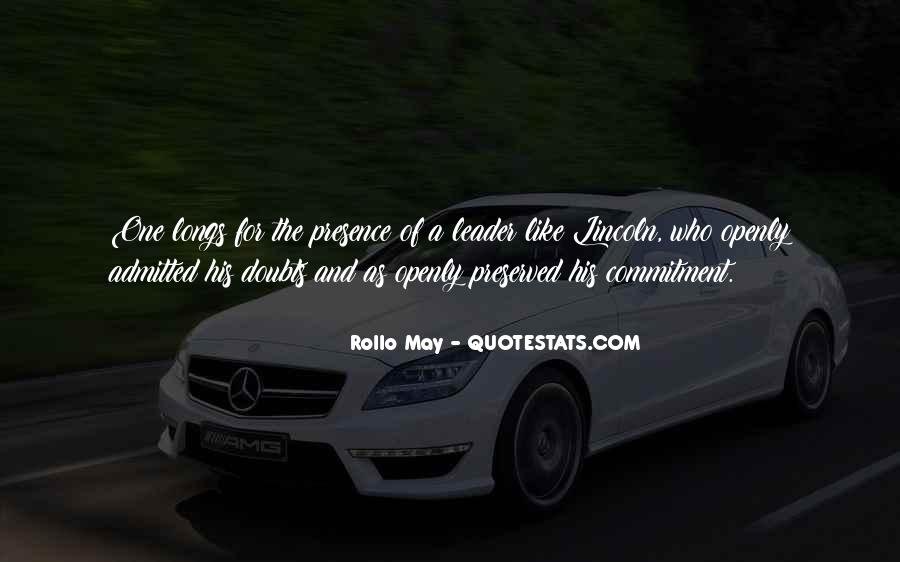 Rollo May Quotes #527139