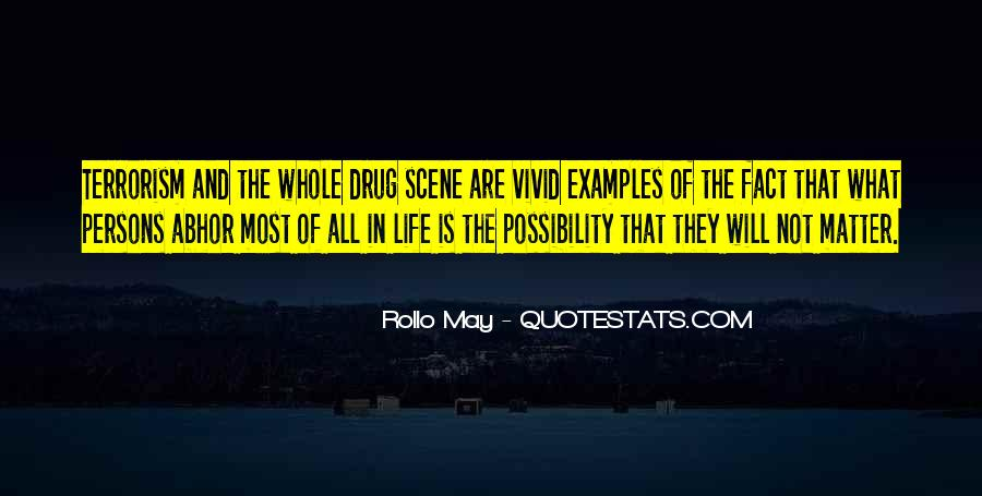 Rollo May Quotes #613234