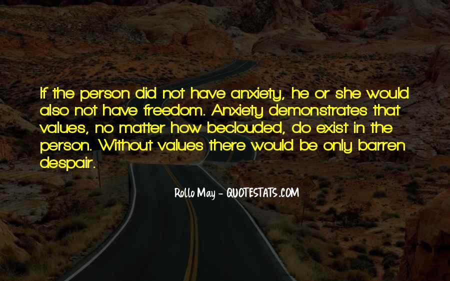 Rollo May Quotes #617652