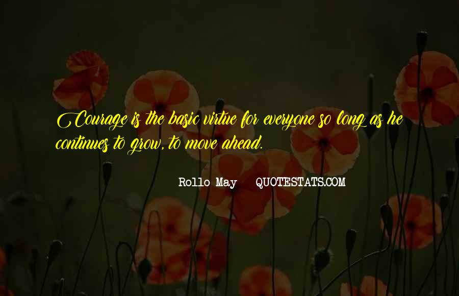 Rollo May Quotes #632344