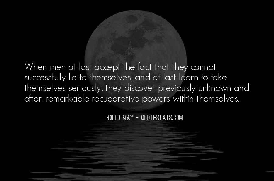 Rollo May Quotes #848813