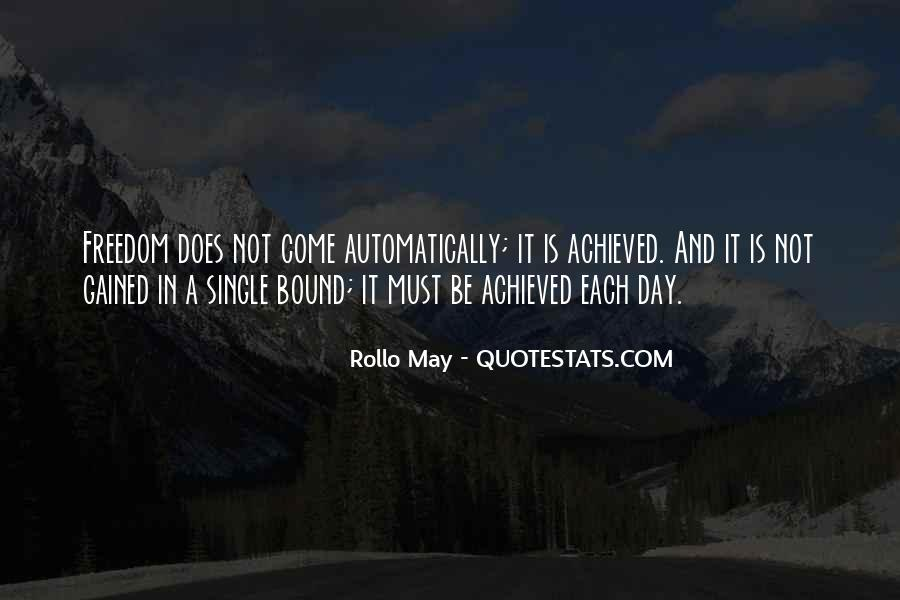 Rollo May Quotes #911845