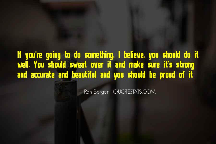 Ron Berger Quotes #975022