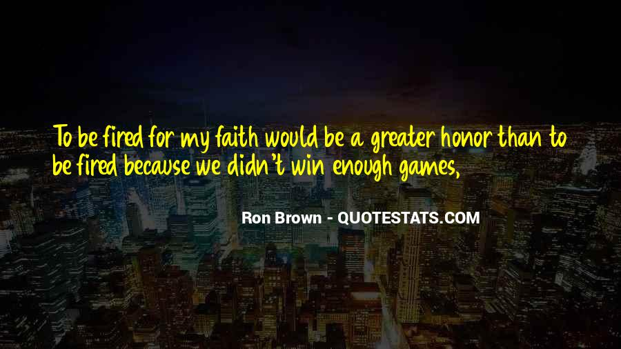 Ron Brown Quotes #1160127