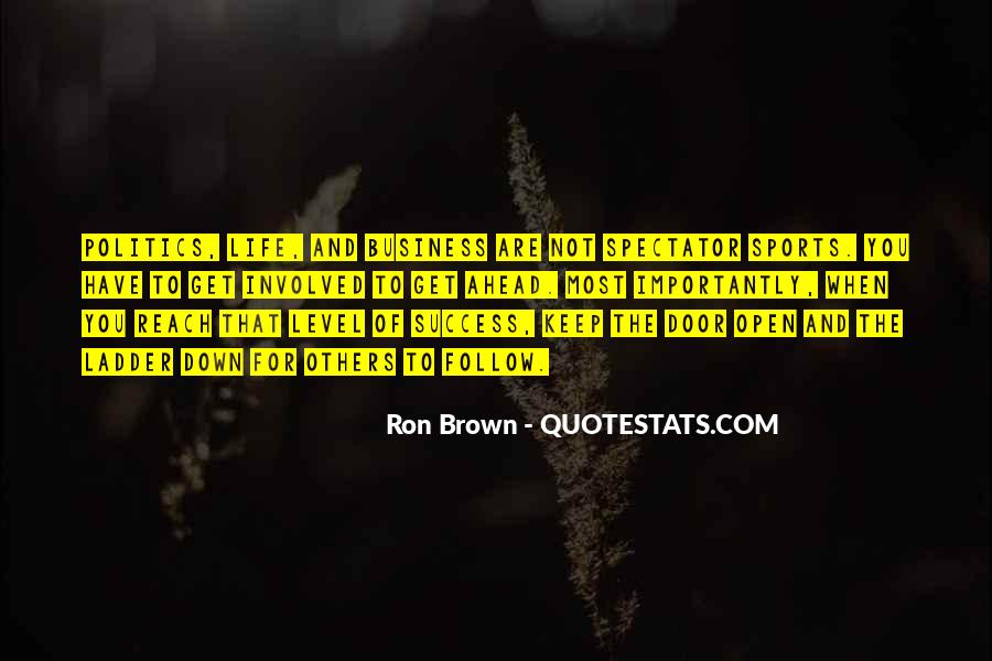Ron Brown Quotes #48429