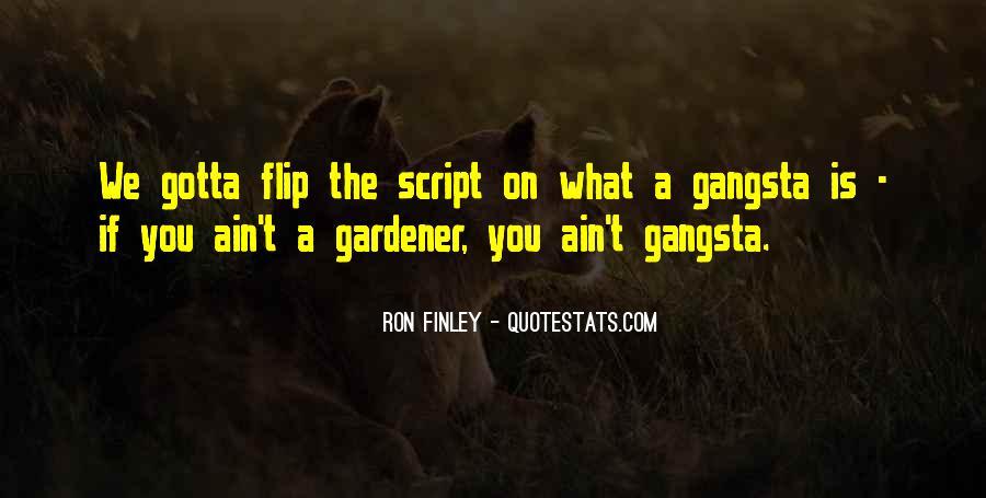 Ron Finley Quotes #1741589