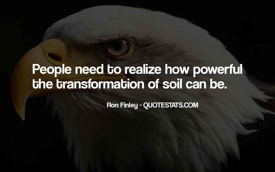 Ron Finley Quotes #55780