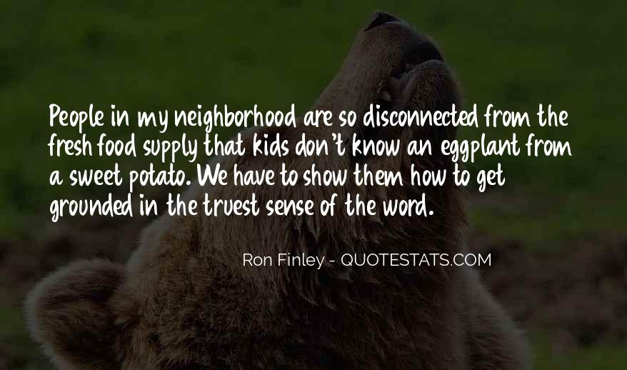 Ron Finley Quotes #924448