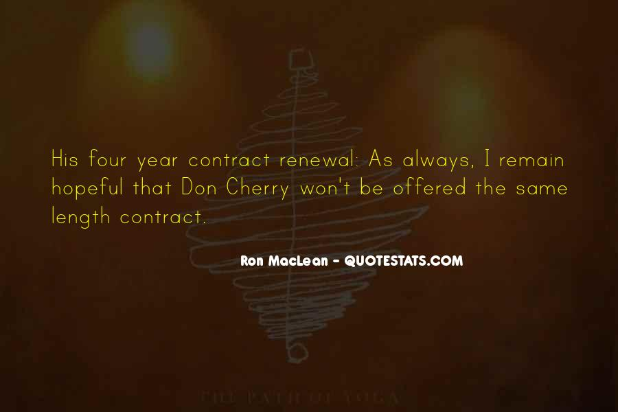 Ron MacLean Quotes #966928