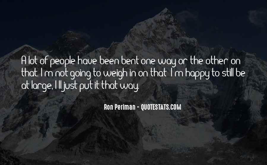 Ron Perlman Quotes #1059725