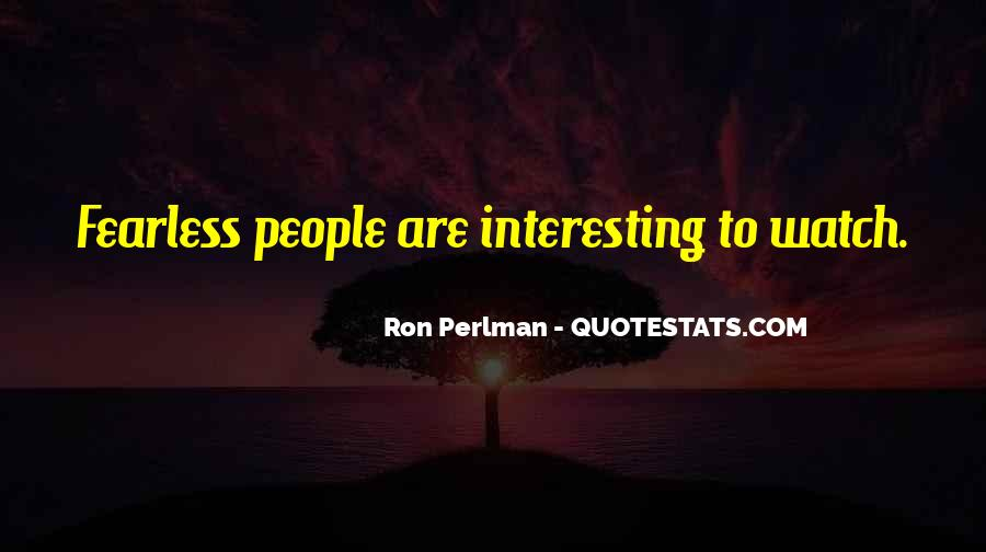 Ron Perlman Quotes #362956