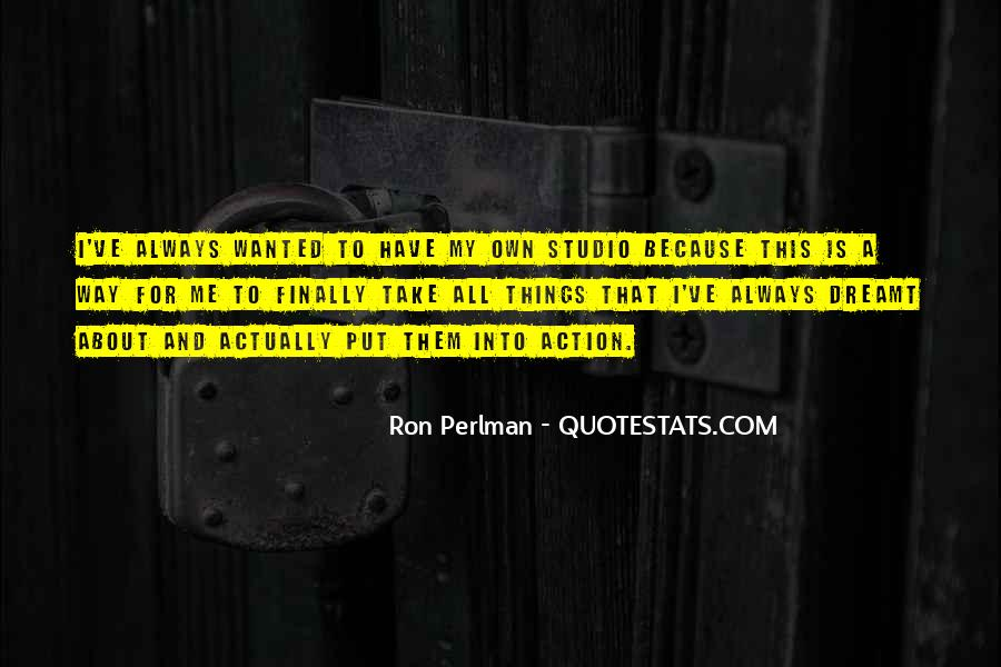 Ron Perlman Quotes #443016