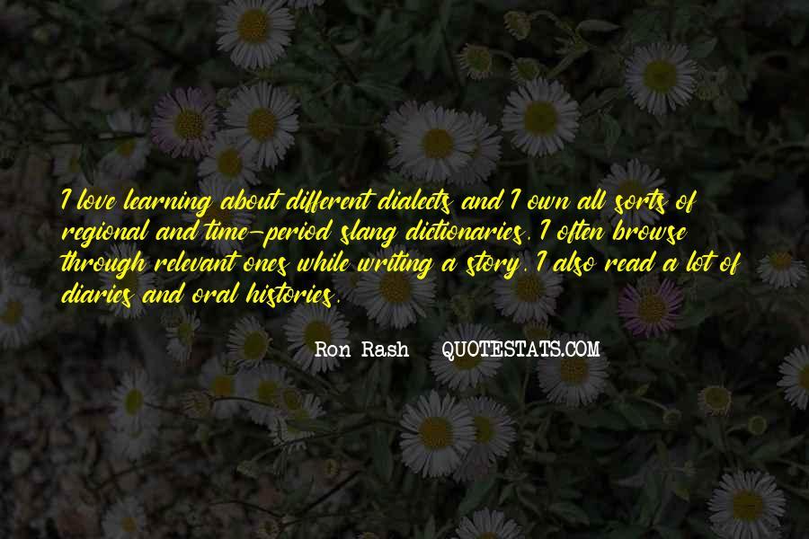 Ron Rash Quotes #1187052