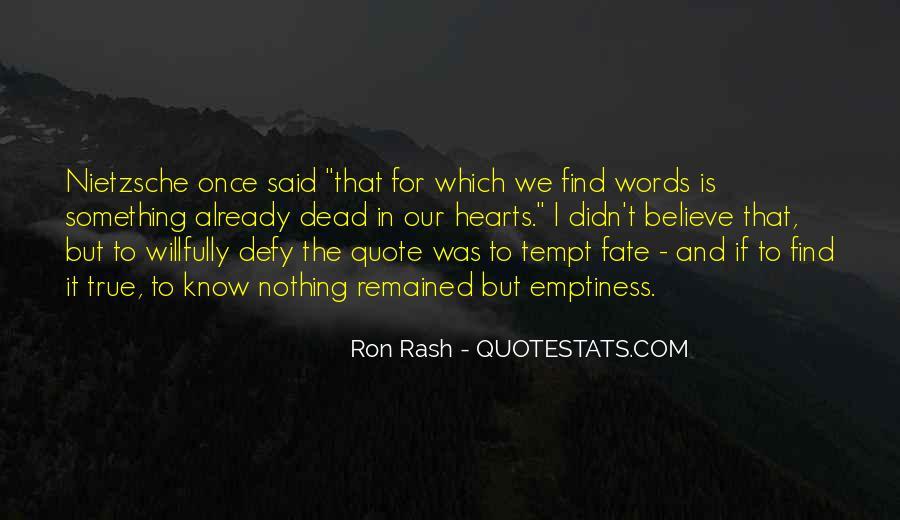 Ron Rash Quotes #1285512