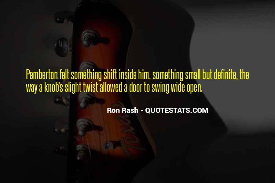 Ron Rash Quotes #1420742