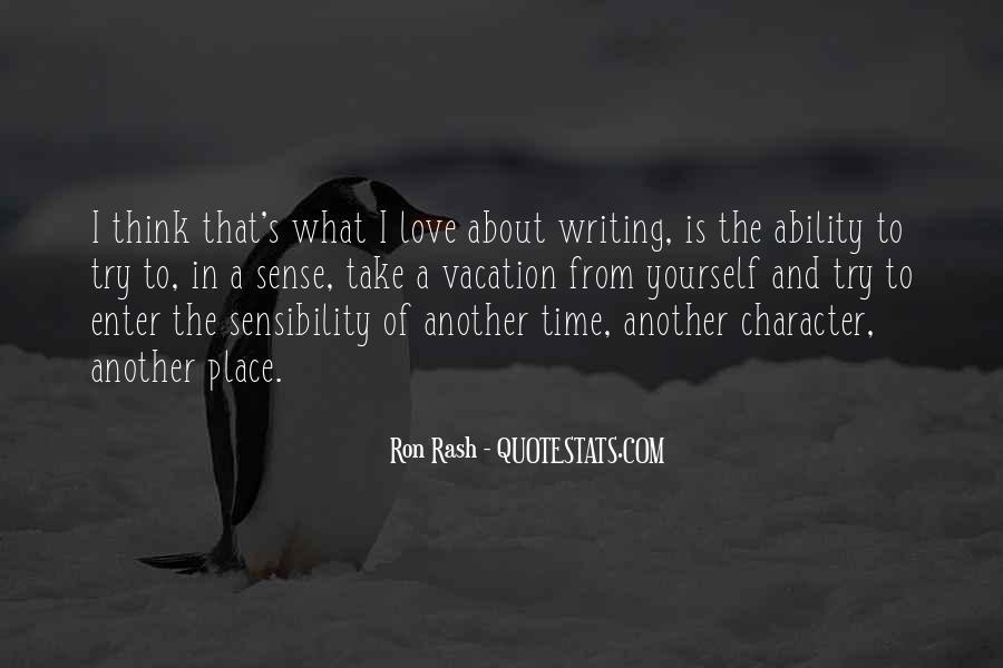 Ron Rash Quotes #1563899