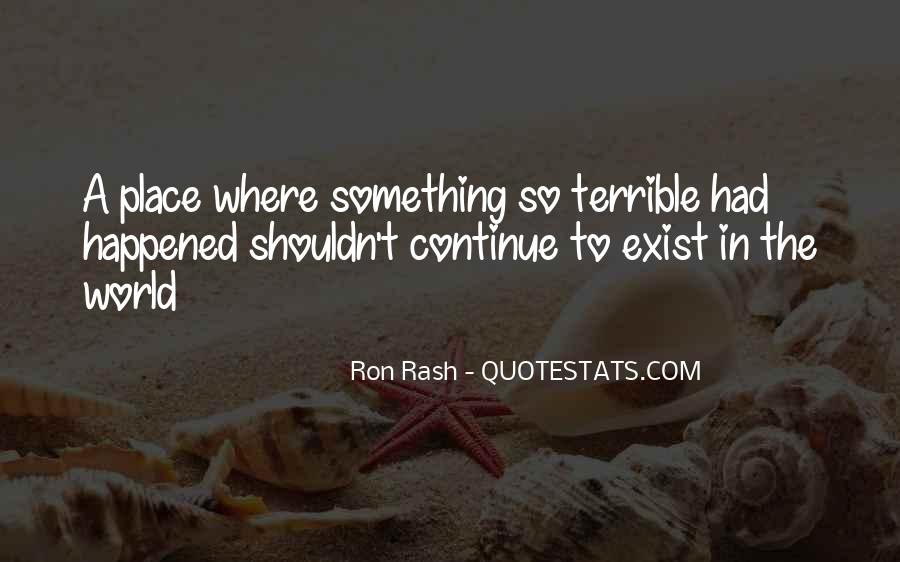 Ron Rash Quotes #1783589
