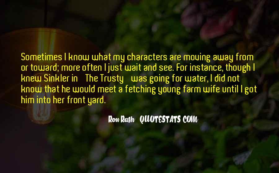 Ron Rash Quotes #187014