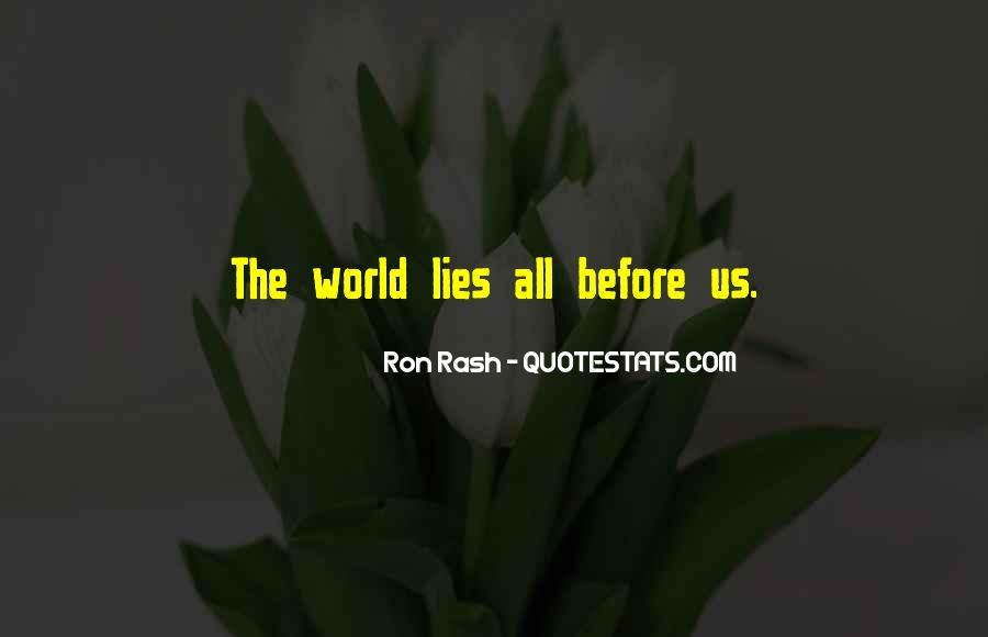 Ron Rash Quotes #300508