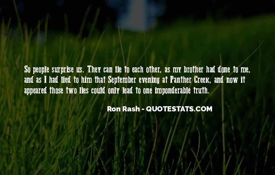 Ron Rash Quotes #566687